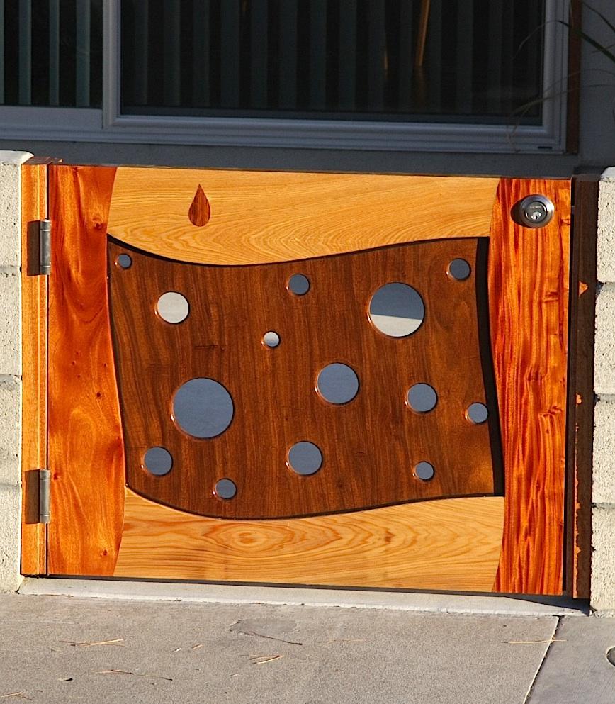 Unique Wood Gates