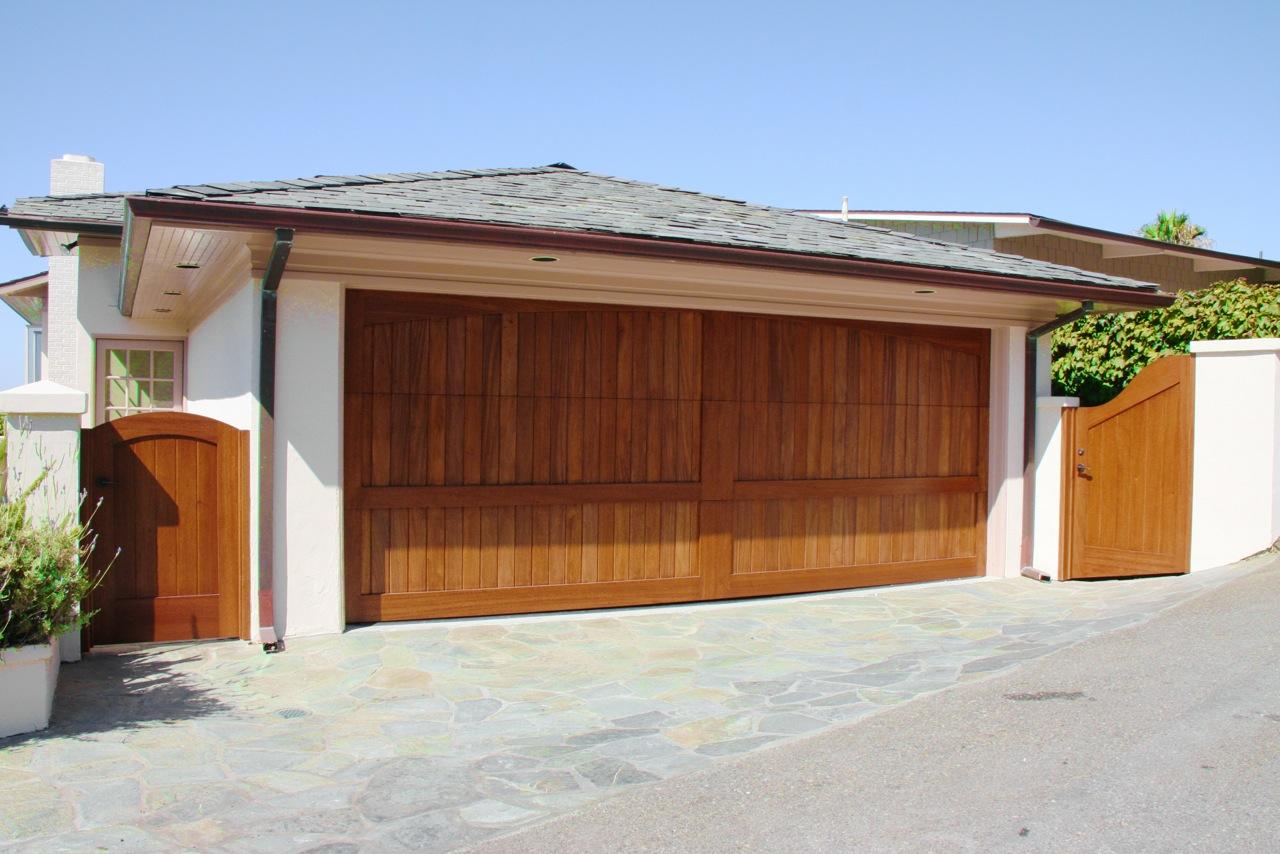custom wood garage doors lido gates